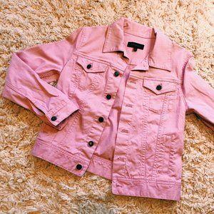 Talbots Bubble Gum Pink Denim Jacket